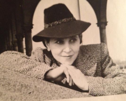 мама Елена Григорьевна Никкель, 50-е годы.