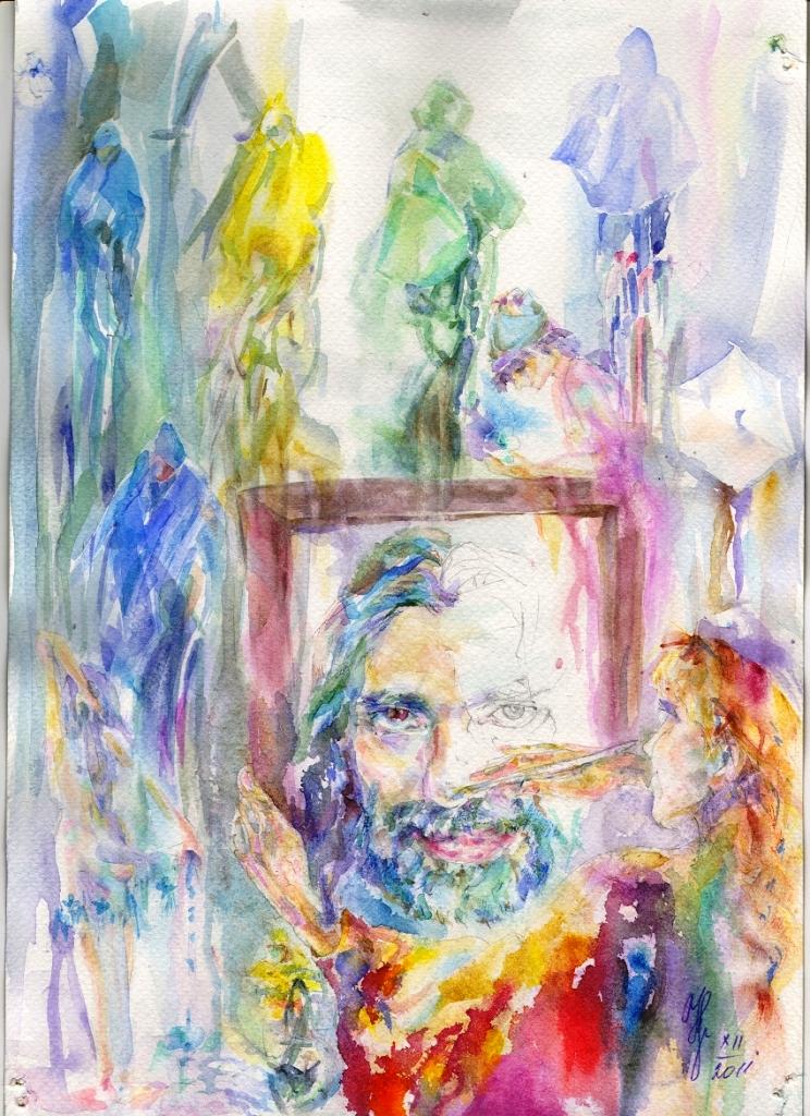 Иллюстрация к Сказкам Штопмана И. Дж. Кураса