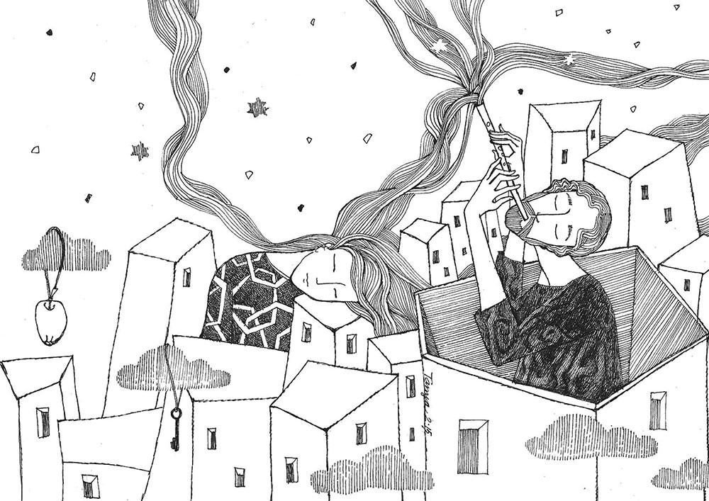 Рисунок Тани Кноссен-Полищук