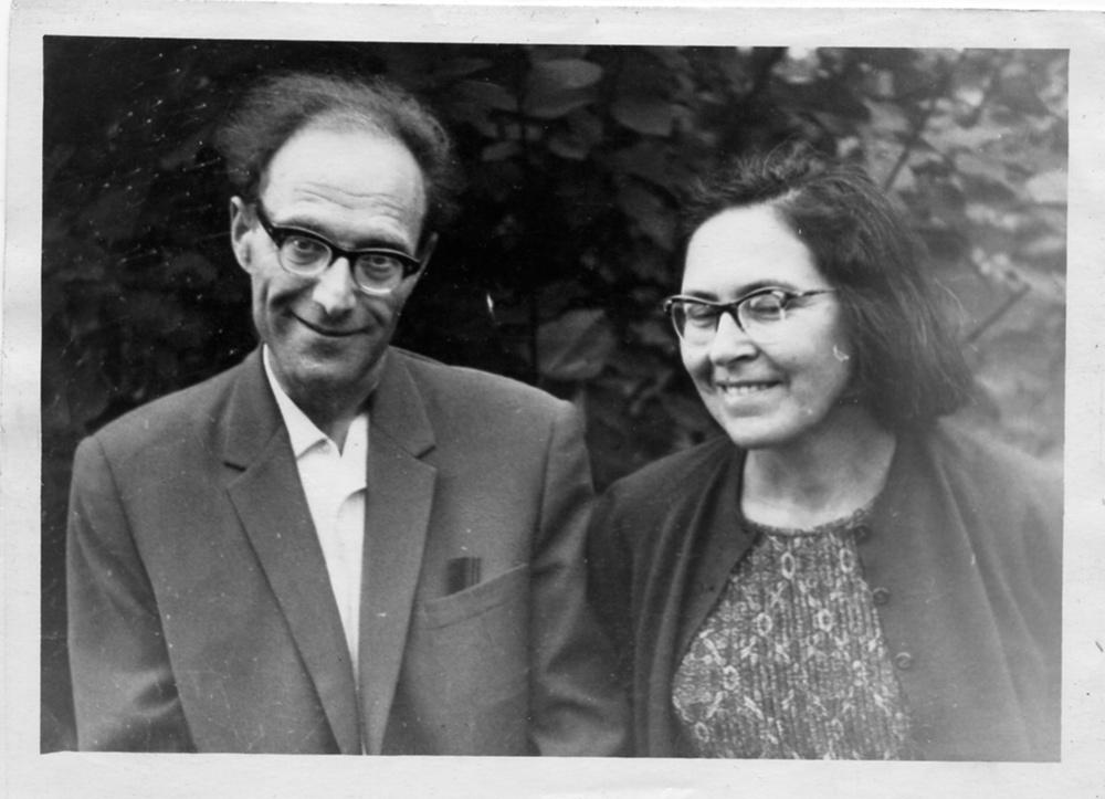 А. Локшин с женой Татьяной