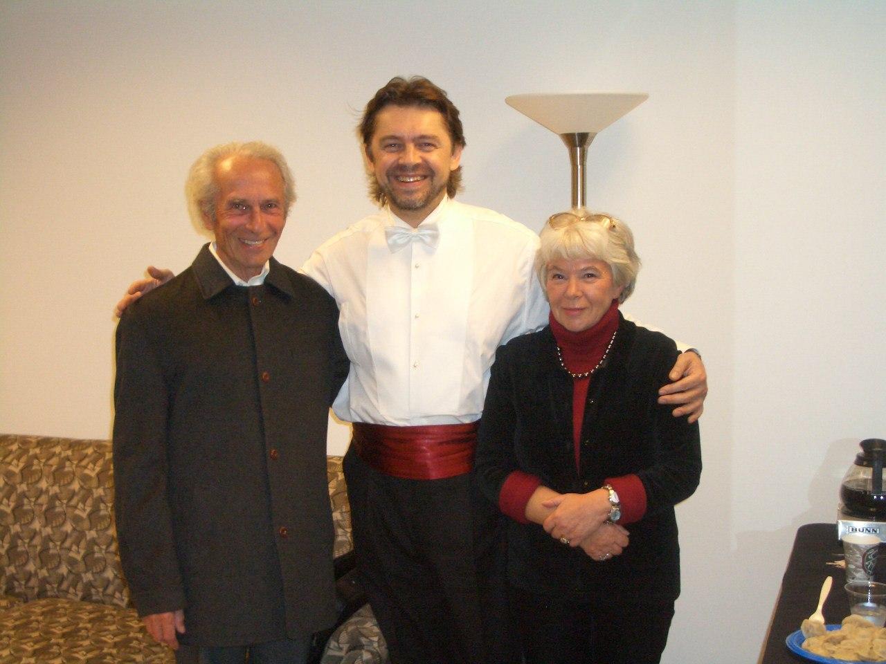 Генрих Орлов; Андрей Борейко; Ирэна Орлова
