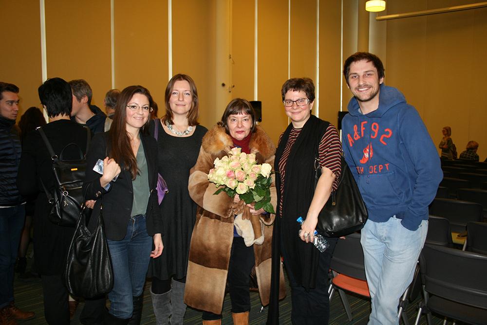Татьяна Щербина со своими учениками