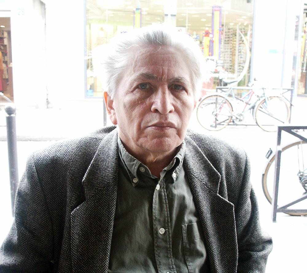 Леонид Ентин, Париж, 2010 год. Фотограф Петр Казарновский