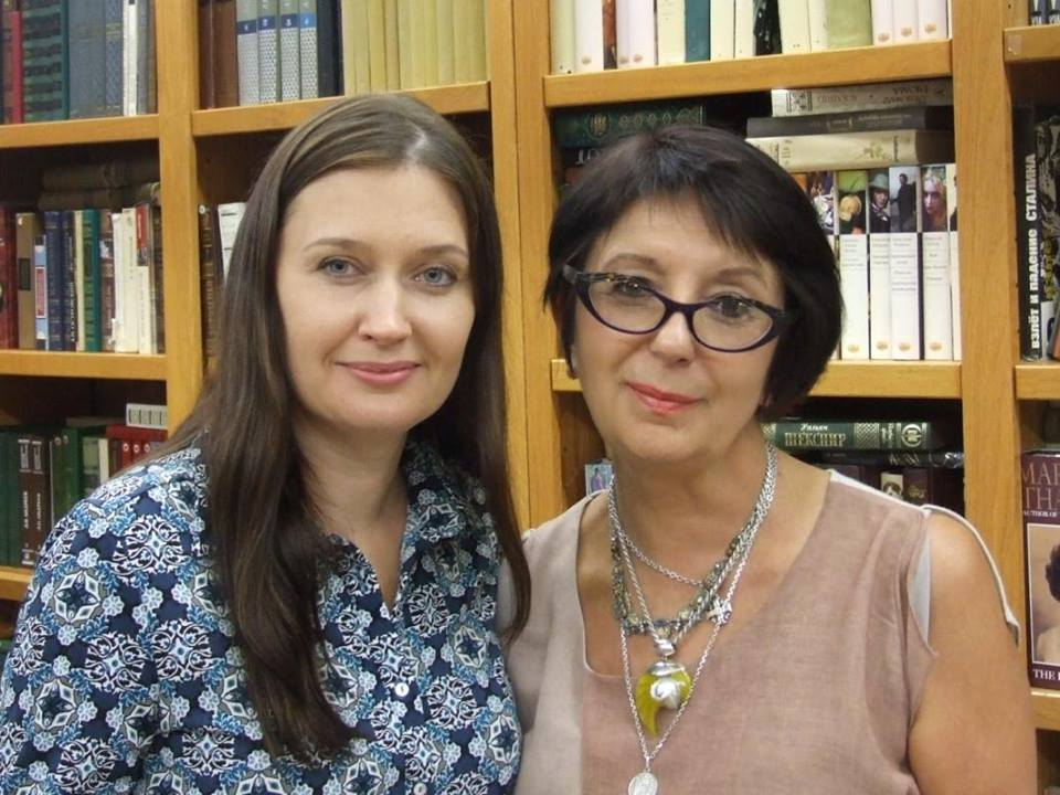 Ирина Терра и Алена Жукова. Фотограф Юлия Левицкая