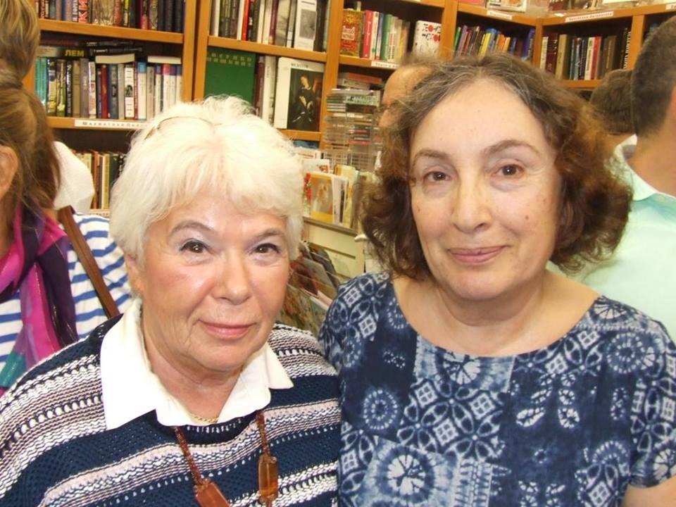 Ирэна Орлова и Анна Агнич. Фотограф Юлия Левицкая