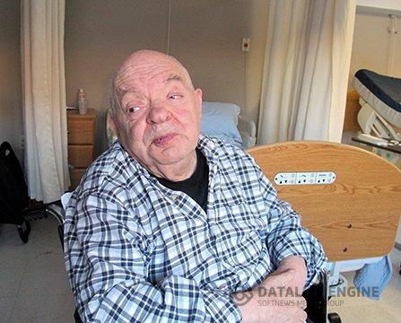 Наум Моисеевич в бостонском центре реабилитации для пожилых людей