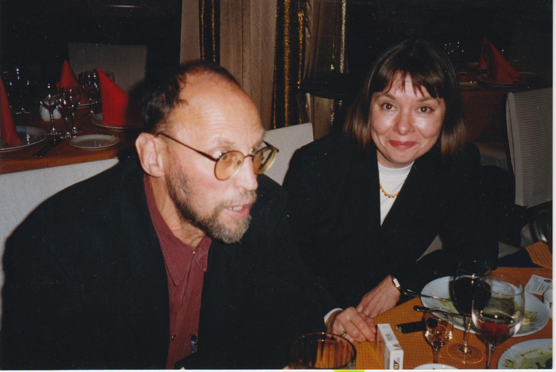 с Д.А.Приговым, 2000 г.