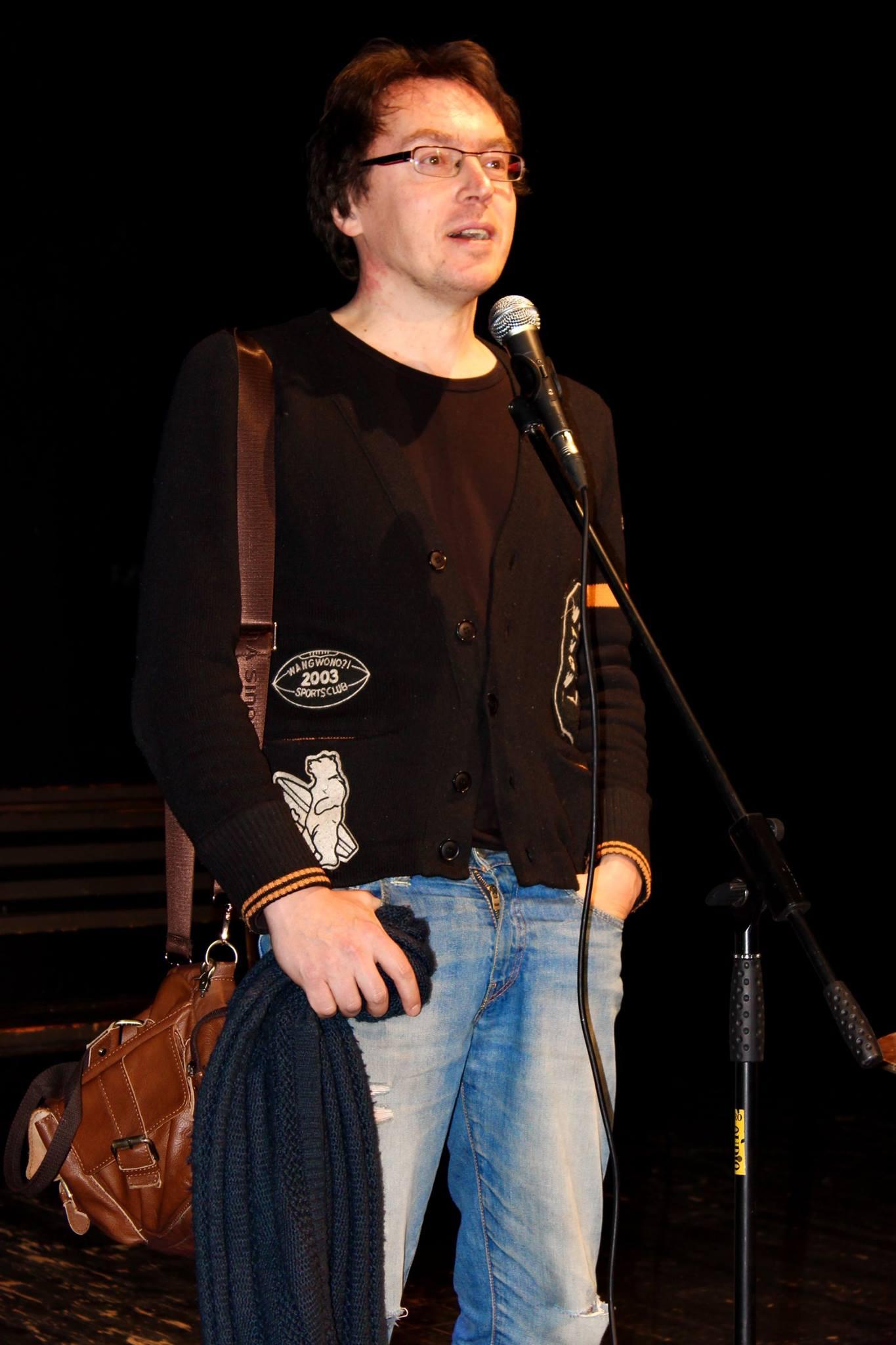 Дмитрий Воденников. Фото Е. Краснощековой