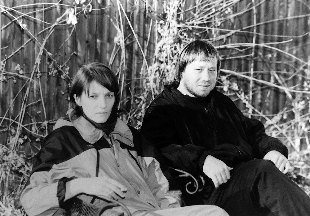 Катя Капович и Филипп Николаев, 2001 год