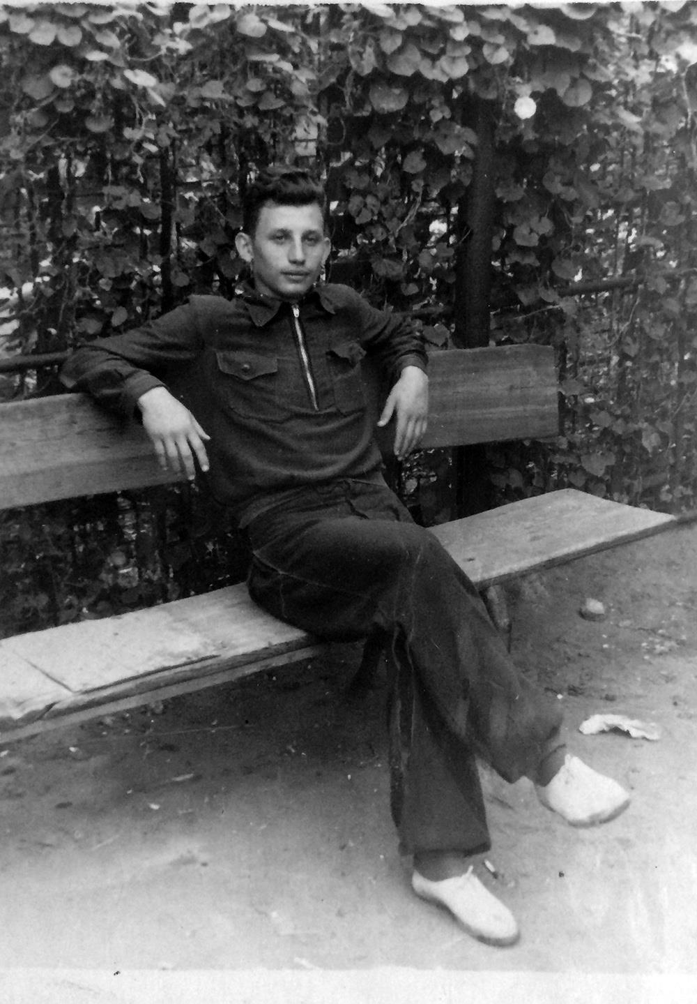Папа (Юлий Капович), Донецк, 1957-й г.