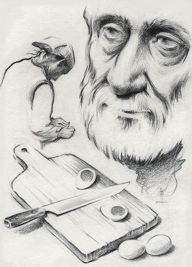 Рисунок Олега Ильдюкова