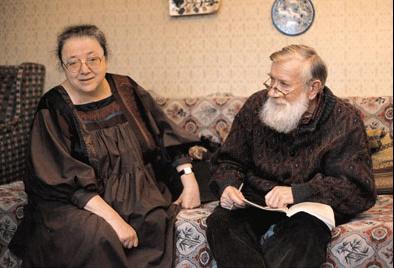 М.В. Розанова и А.Д. Синявский