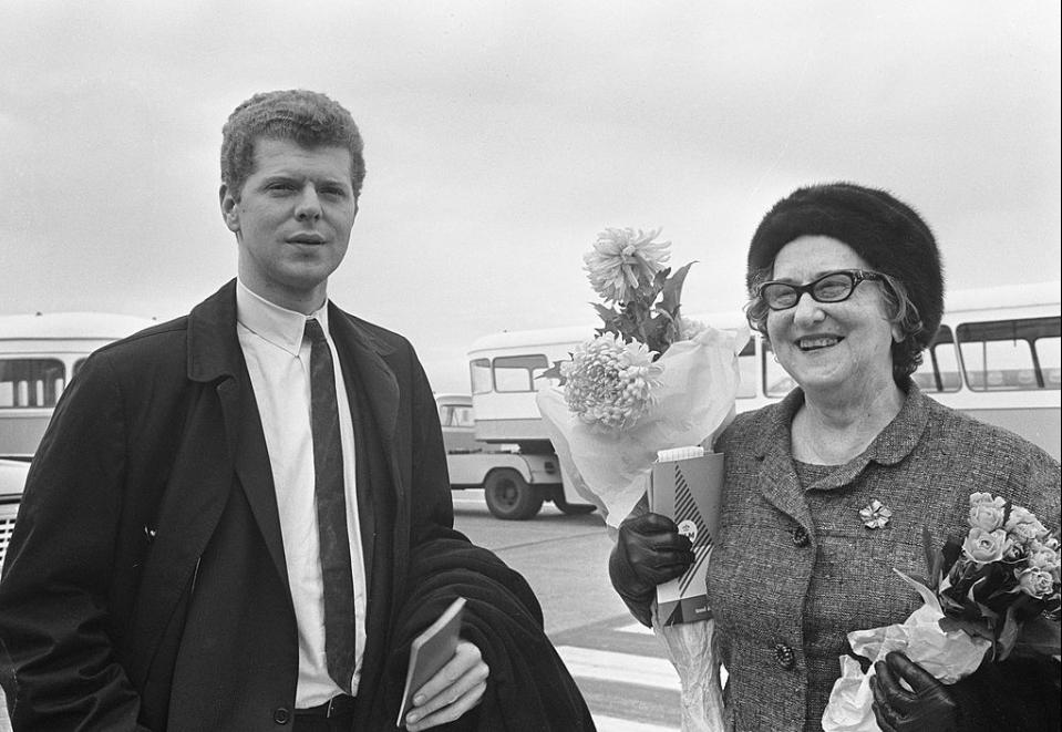 Ван Клиберн с мамой