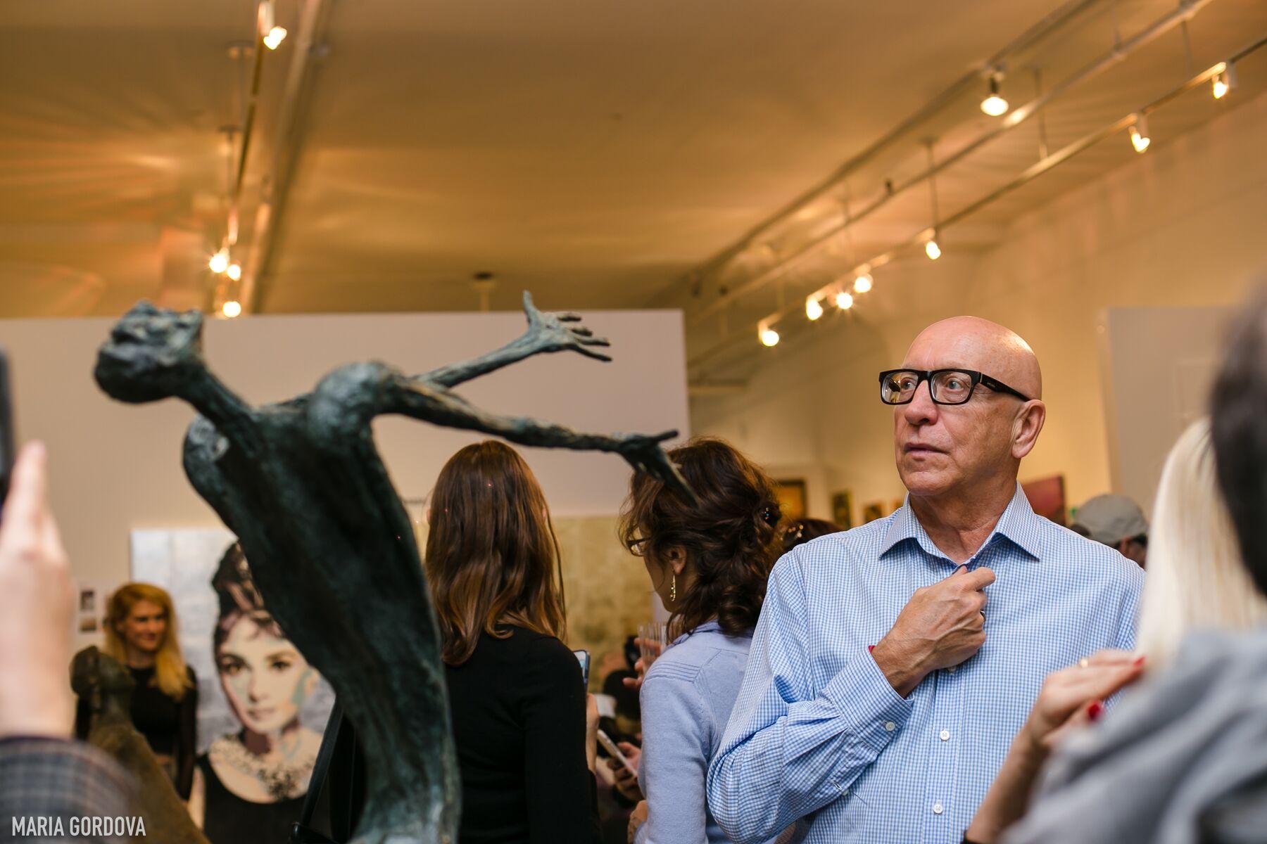 Скульптура Эмиля Зильбермана впечатляет зрителей