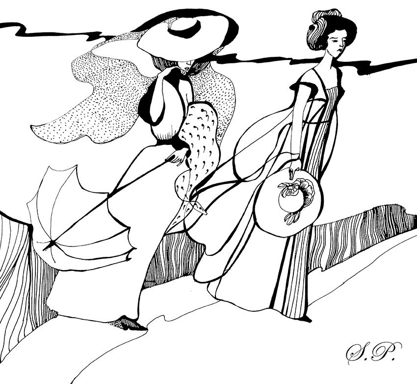 Иллюстрация Полины Слуцкой