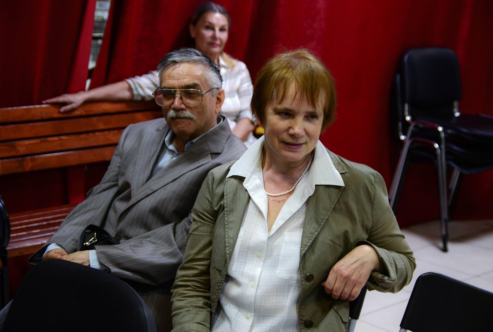 Сергей и Елена Стратановские. Фото Олега Ильдюкова