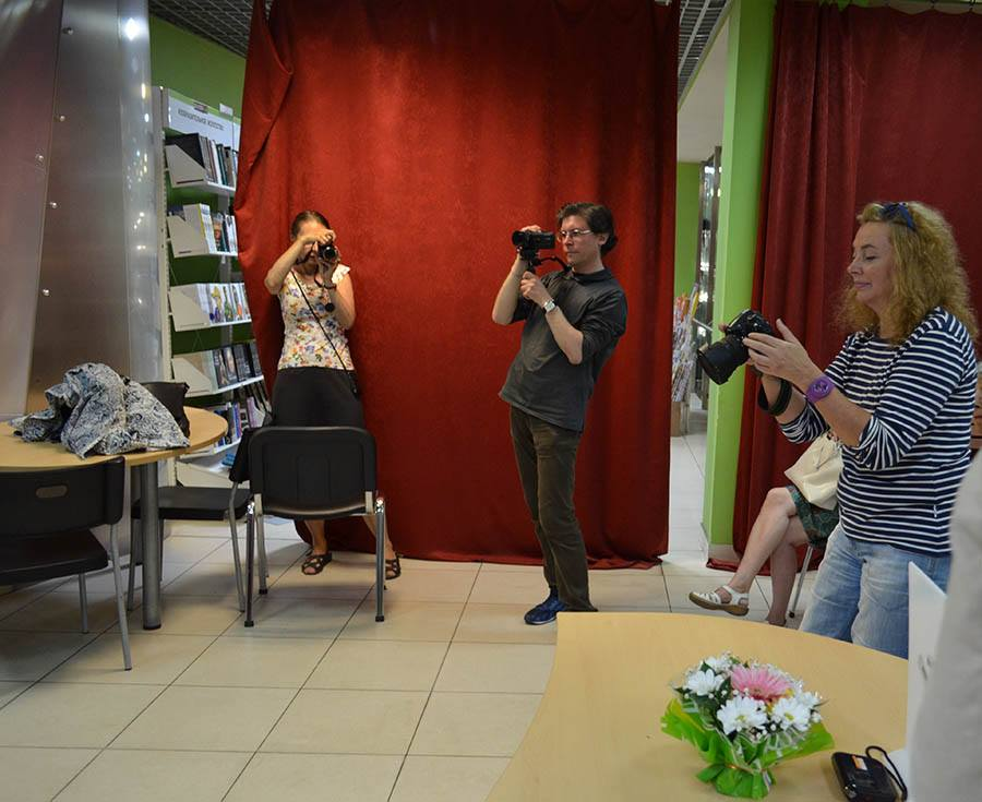 Марина и Владислав Морхат, Галина Кожемяченко. Фотограф Олег Ильдюков