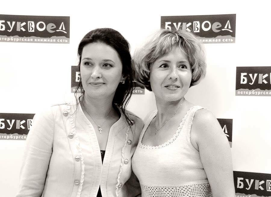 Ирина Терра и Наталья Дзе. Фотограф Олег Ильдюков