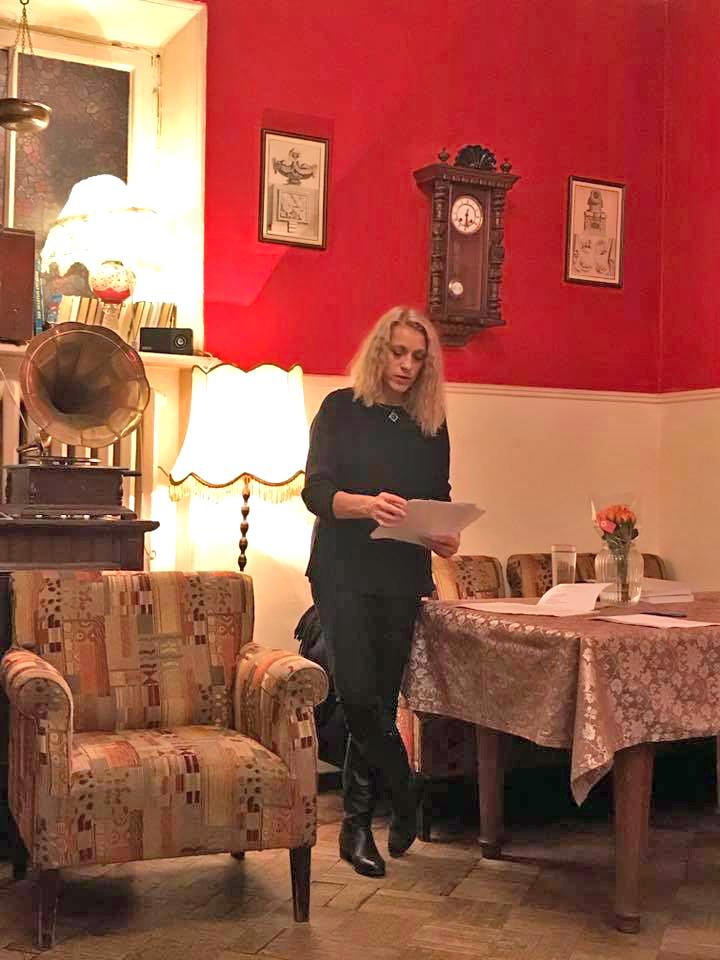 Татьяна Вольтская на презентации книги в Москве