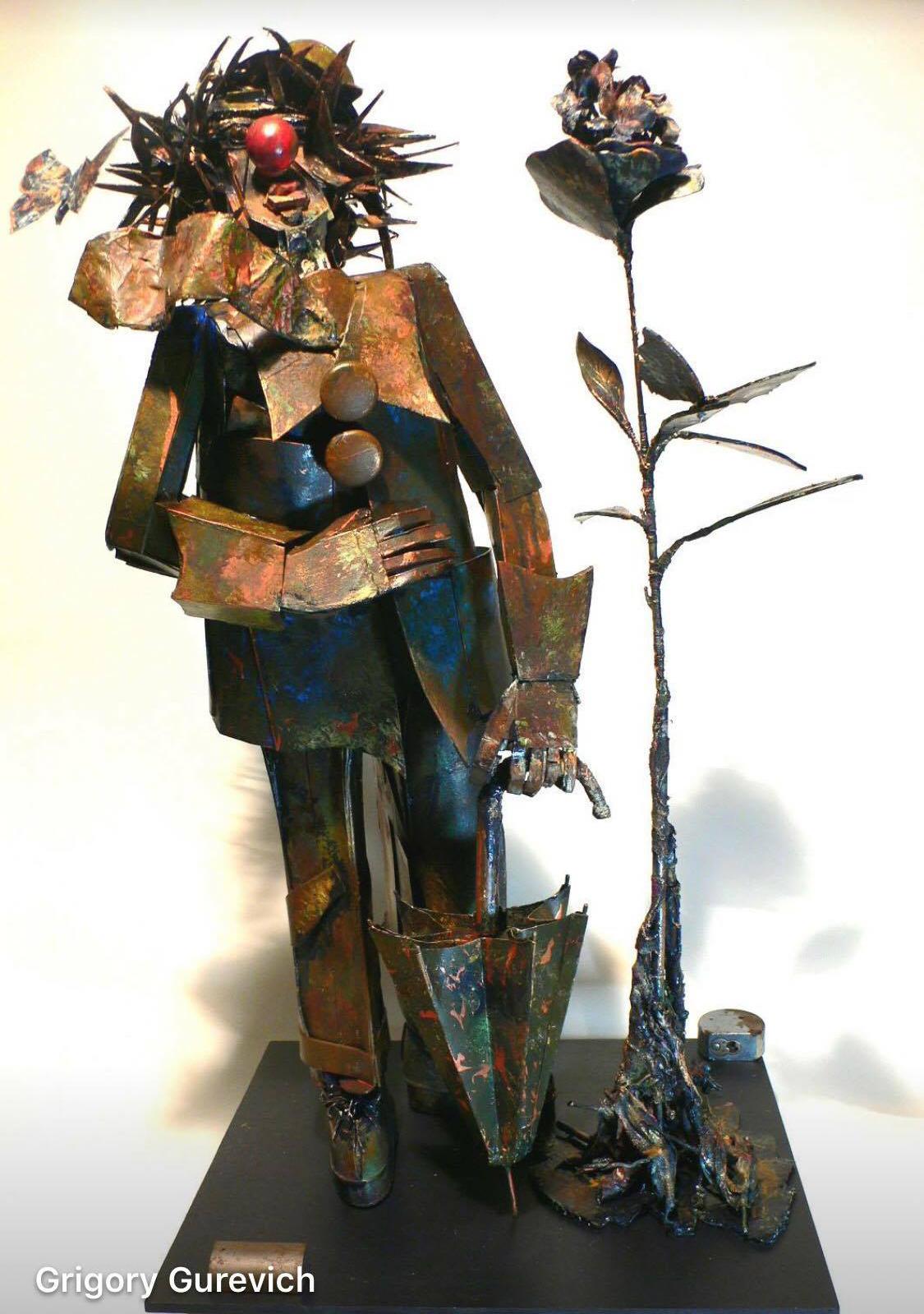 Скульптура Клоун работы Г.Гуревича