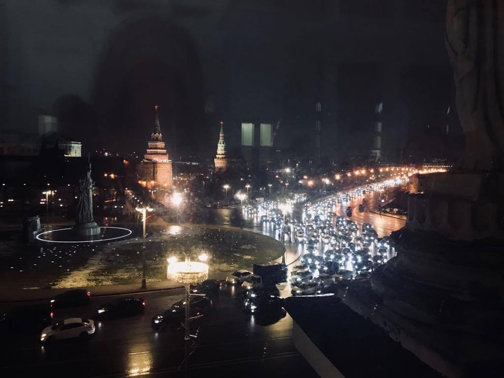 Вид на Кремль из дома Пашкова