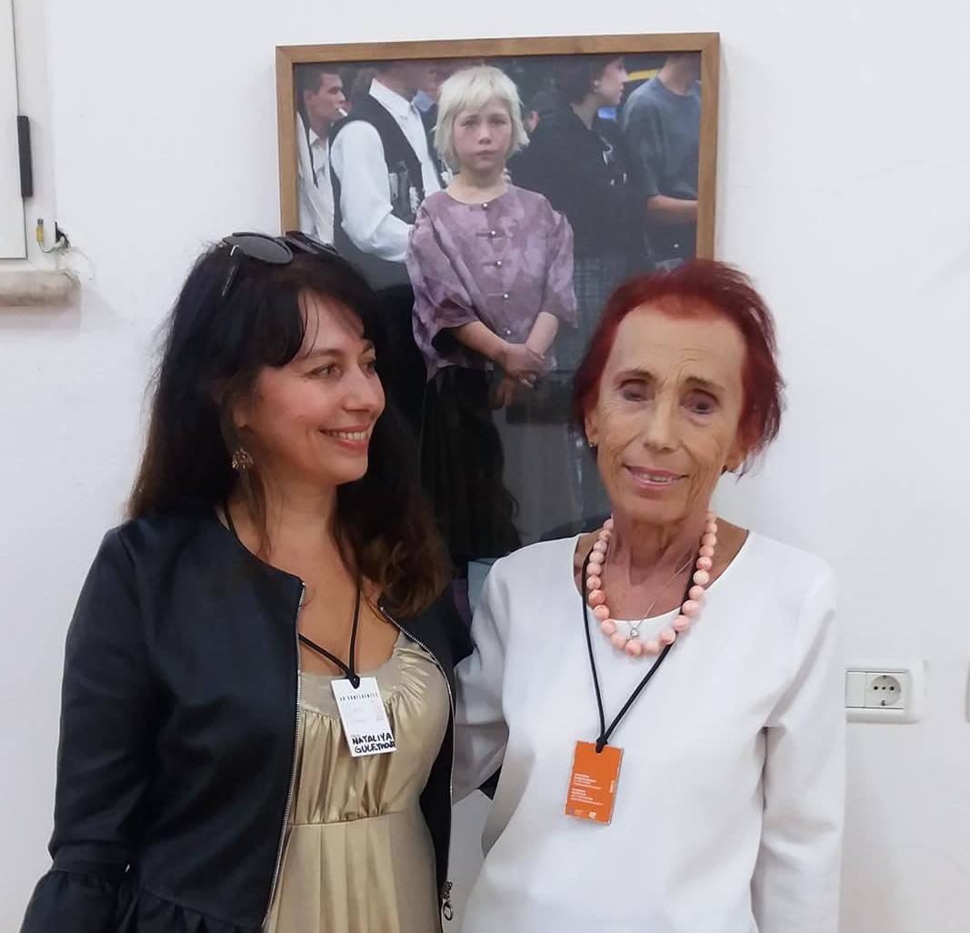 Наталья Гулейкова-Сильвестри и Иза Пераццини (Isa Perazzini), мать Марко Пезарези