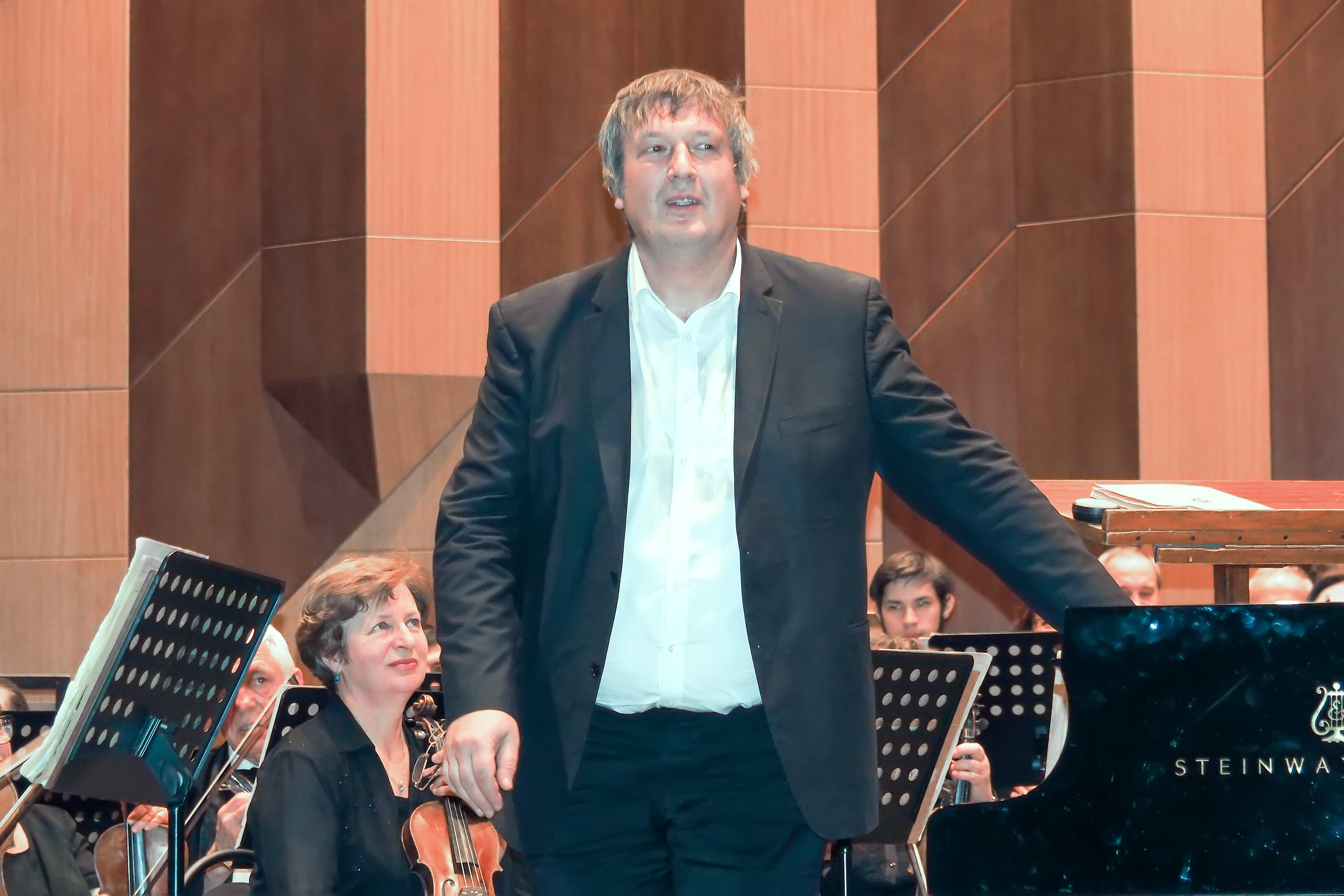 Борис Березовский на концерте в Воронеже