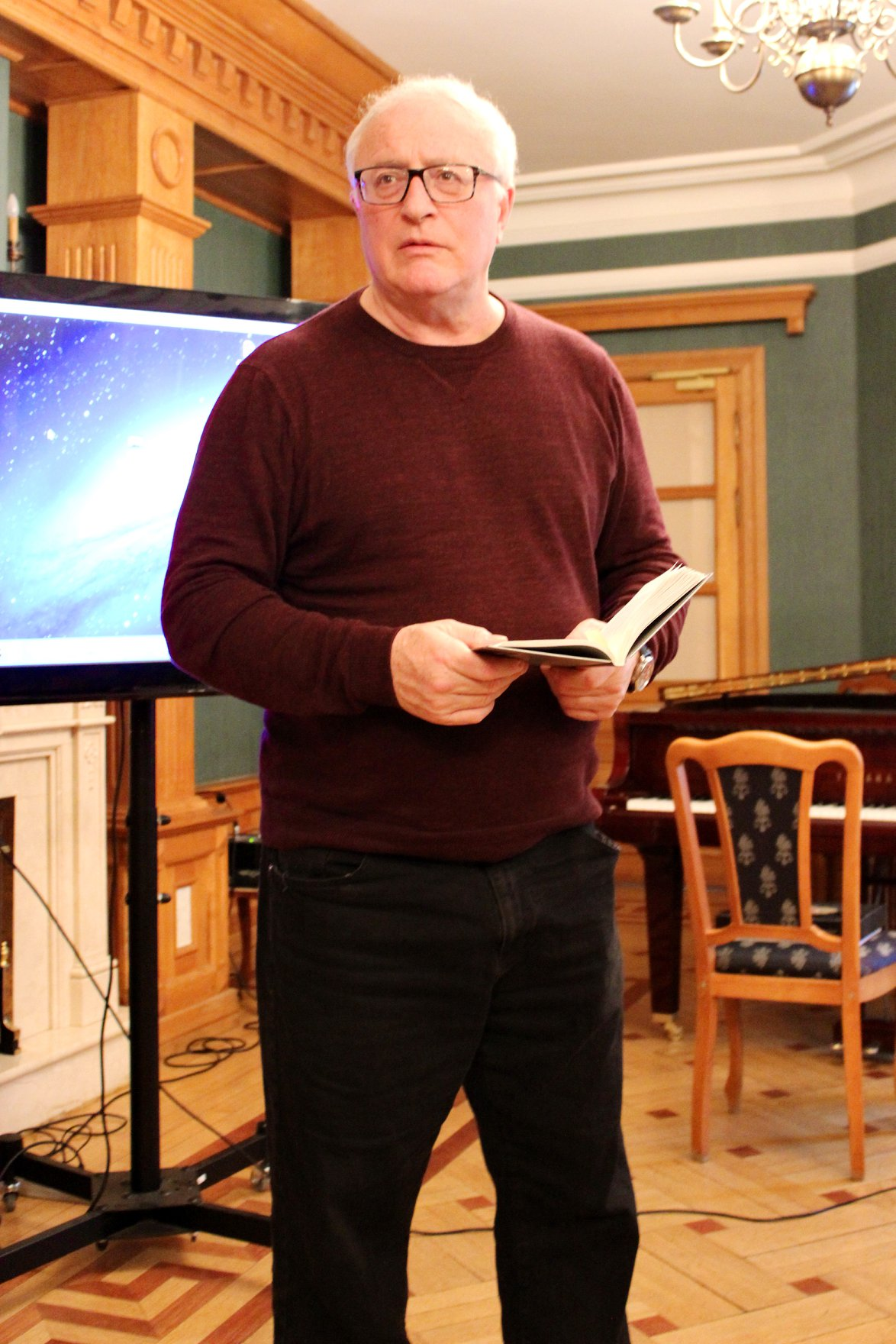 Поэт, эссеист, издатель и главный редактор международного журнала ИНТЕРПОЭЗИЯ, Андрей Грицман