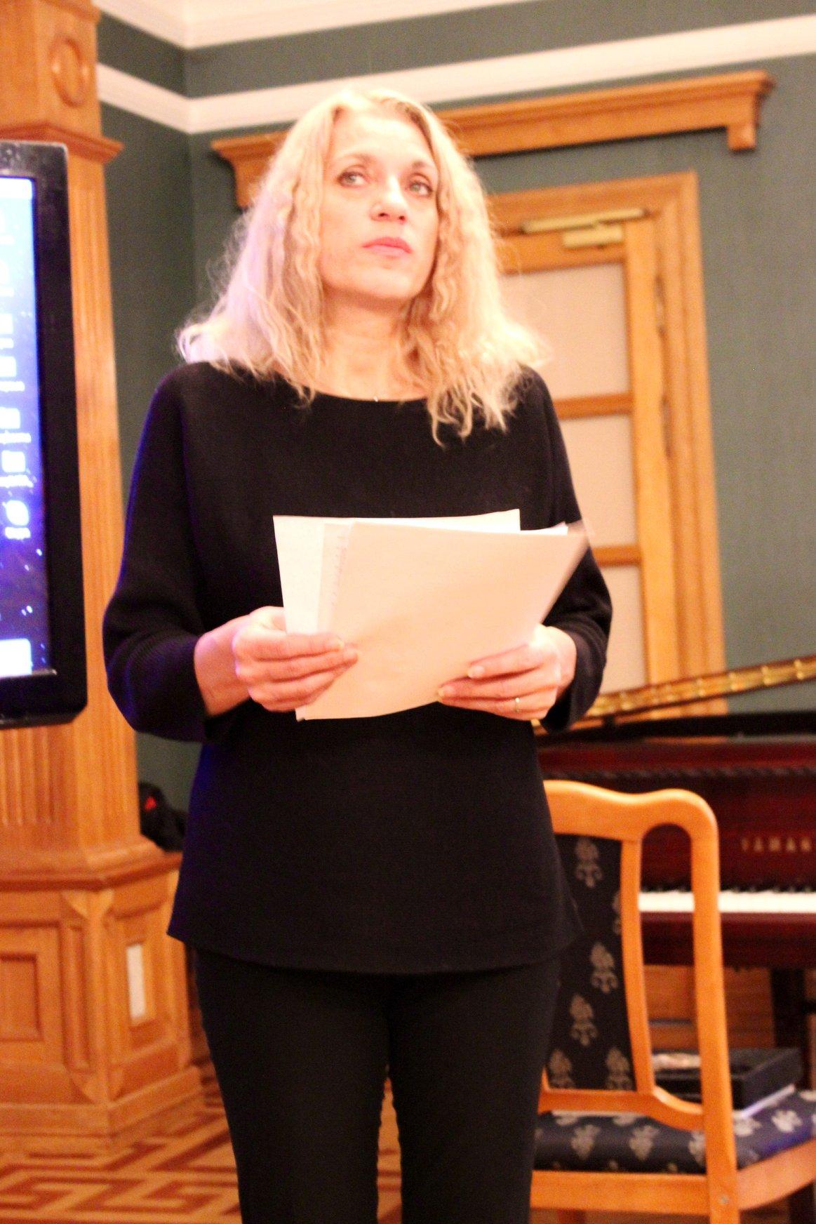 Поэт, эссеист, журналист на радио Свобода, Татьяна Вольтская