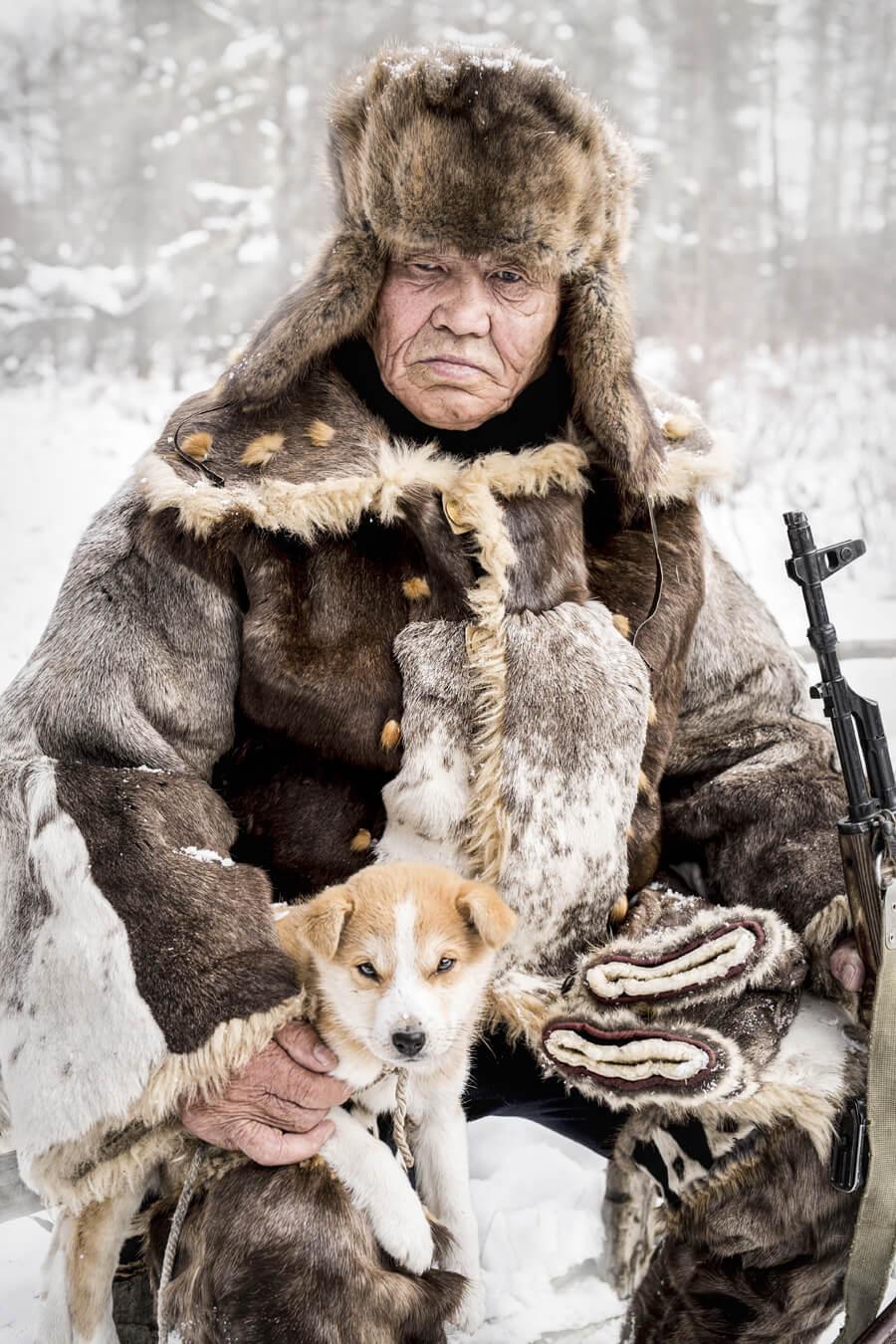Якутия. Старейшина эвенкийской оленеводческой общины. © Александр Химушин / The World In Faces