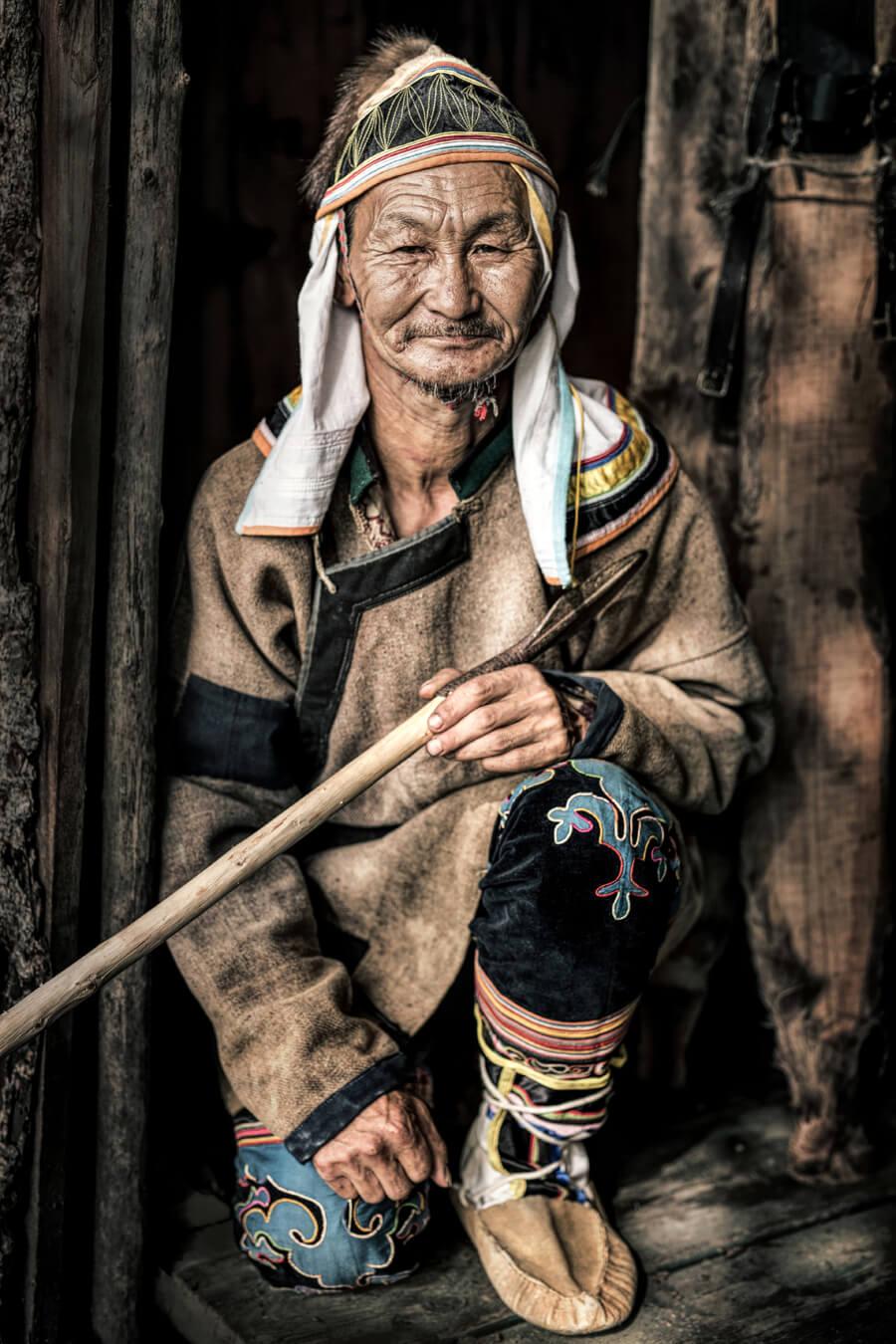 Мужчина удэгеец. Приморский Край © Александр Химушин / The World In Faces