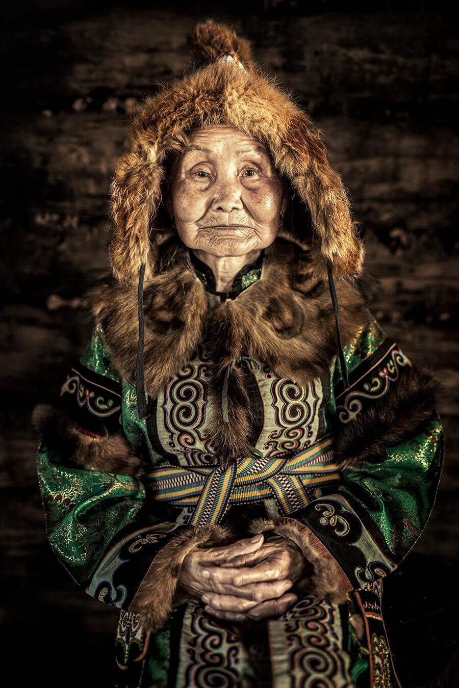 Бабушка - представительница коренного малочисленного народа ульчи. Хабаровский Край. © Александр Химушин / The World In Faces