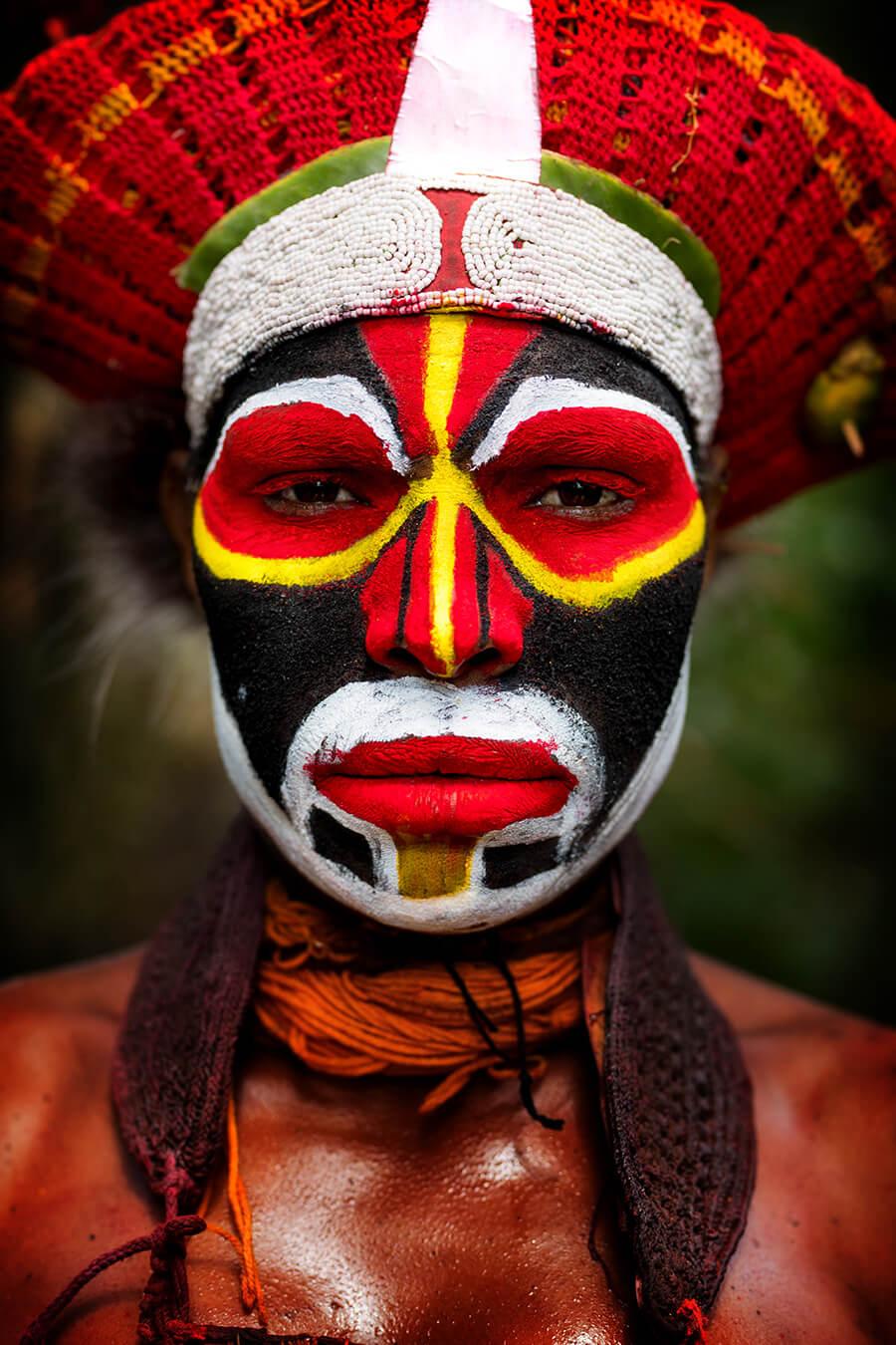 Девушка с Западных высокогорий Папуа-Новой Гвинеи © Александр Химушин / The World In Faces