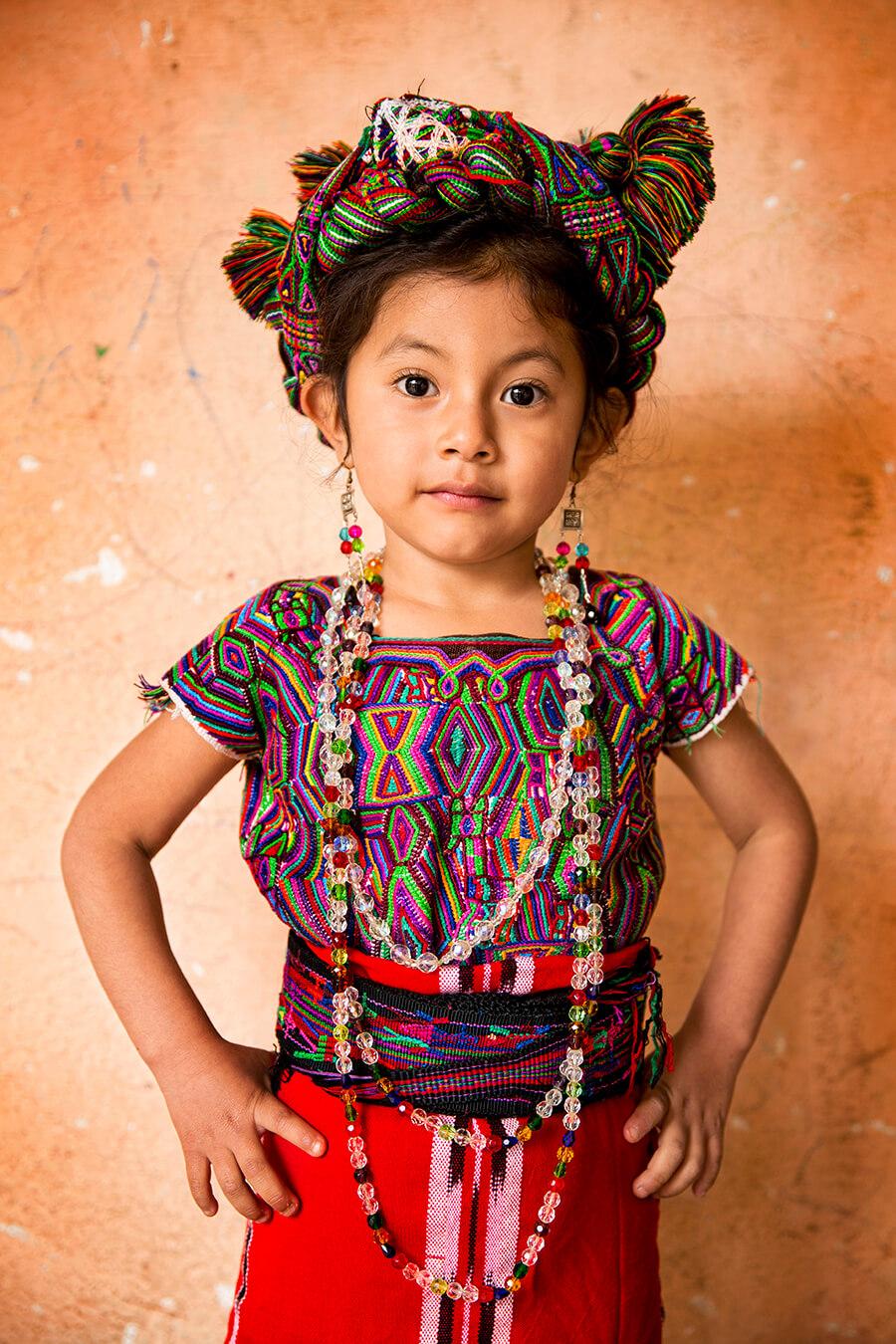 Девочка ишиль - одной из многочисленных народностей майя. Гватемала © Александр Химушин / The World In Faces