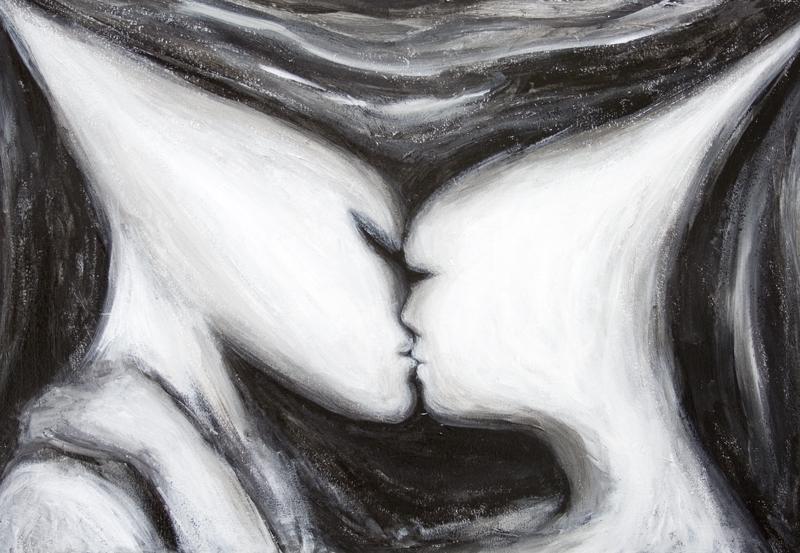 The Eternal Kiss. Kazuya Akimoto Art Museum
