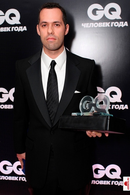Вручение премии Лучший писатель года по версии журнала GQ