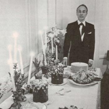 Д.Баланчин ждёт гостей на свой традиционный пасхальный обед