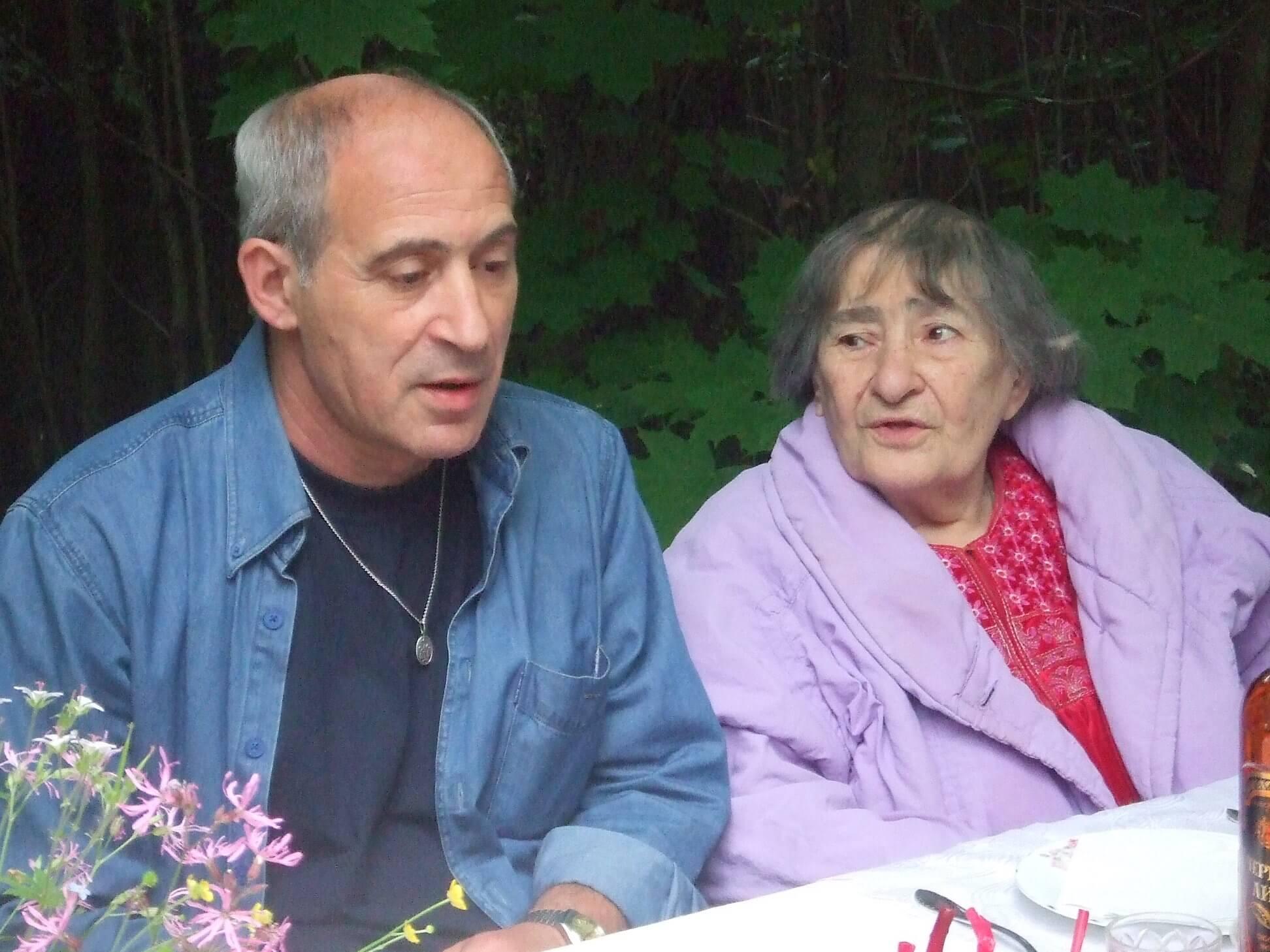 Ефим Бершин и Инна Лиснянская
