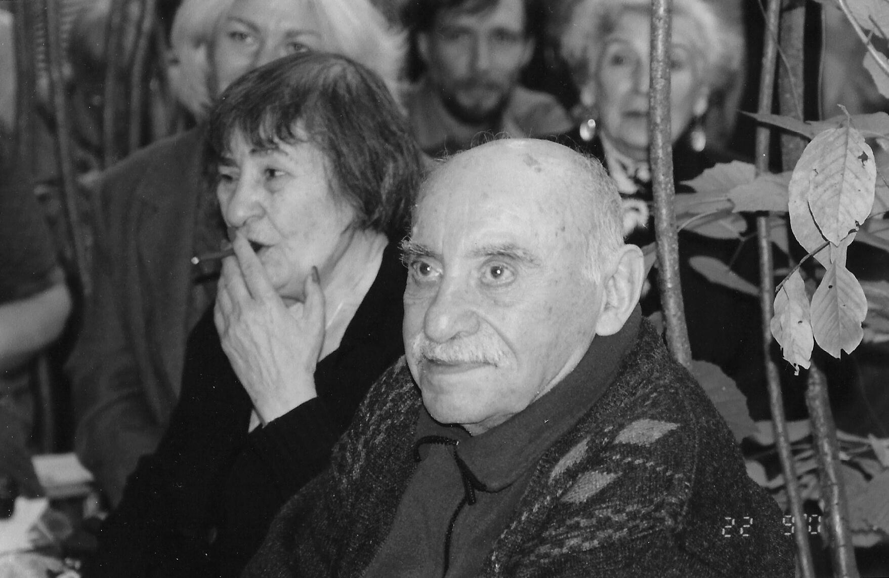 С. Липкин и И. Лиснянская