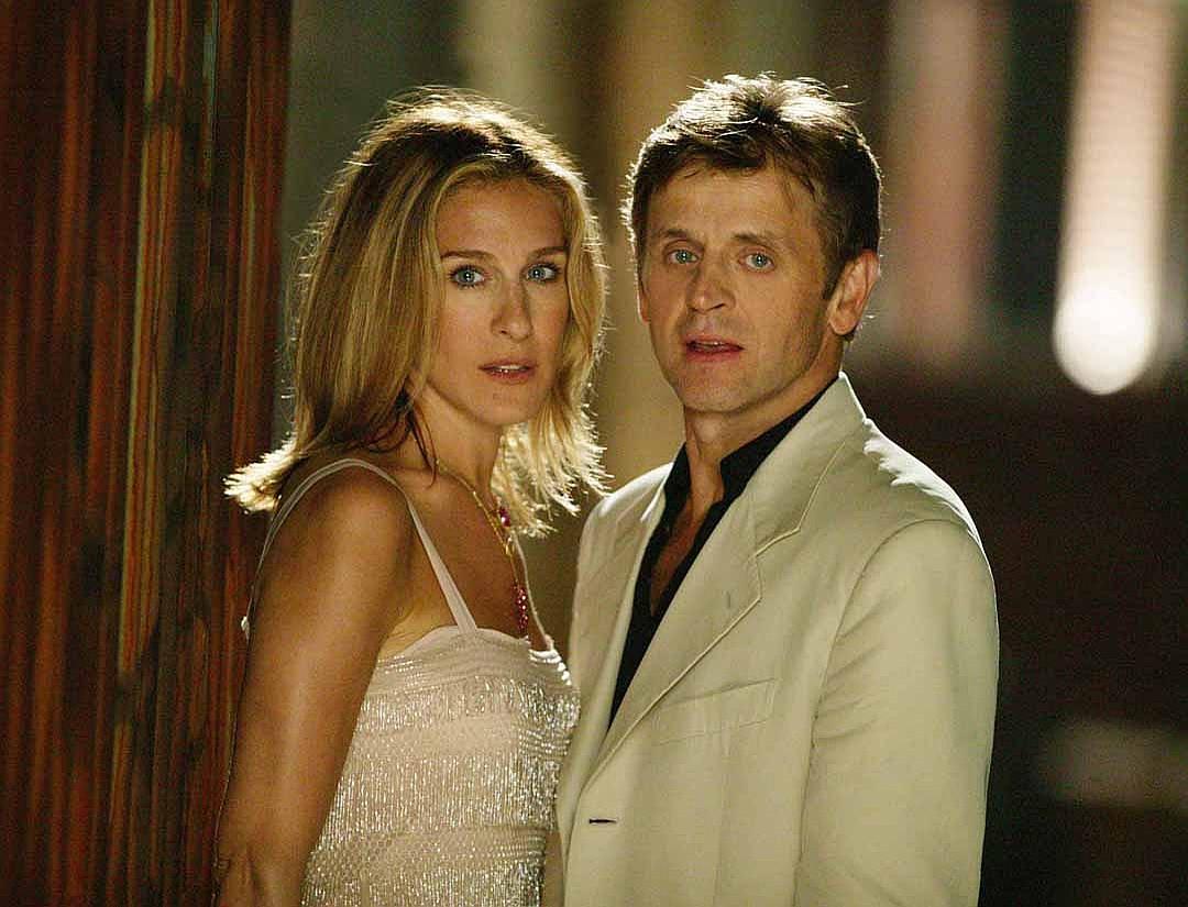 Михаил Барышников и Сара Джессика Паркер в сериале Секс в большом городе