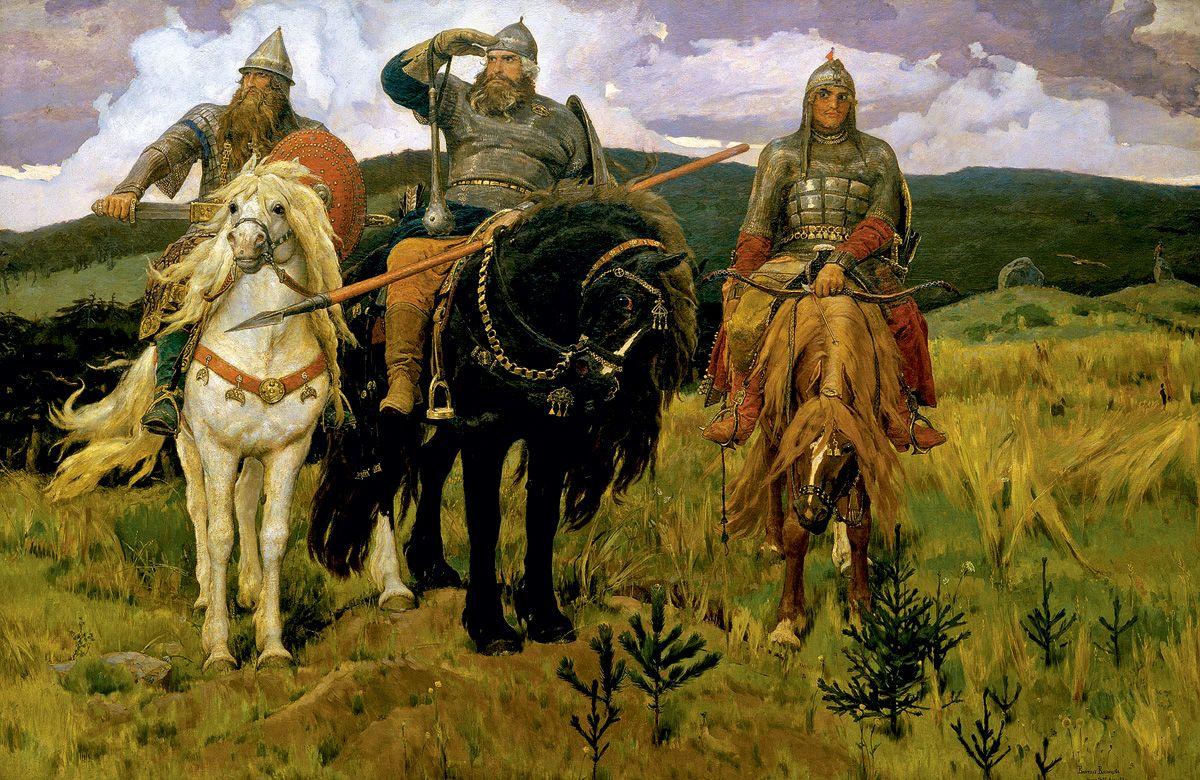 Богатыри. Васнецов, 1881—1898