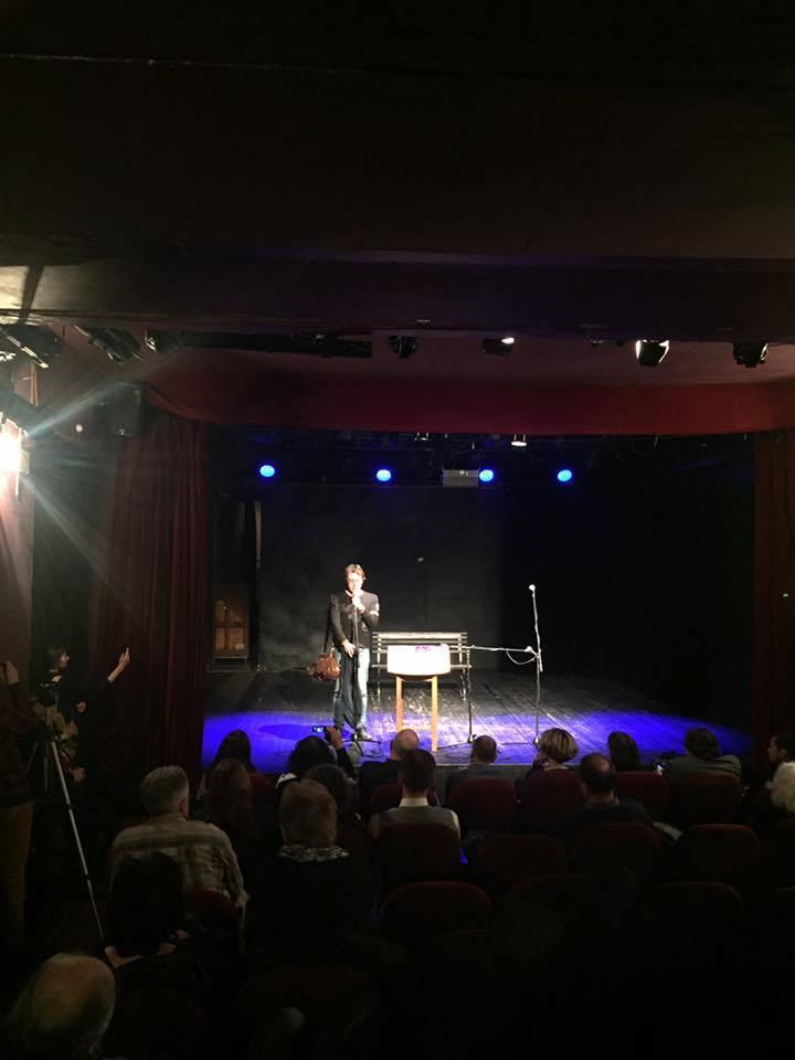 Презентация журнала ЭТАЖИ в Москве в Доме Булгакова, февраль 2016