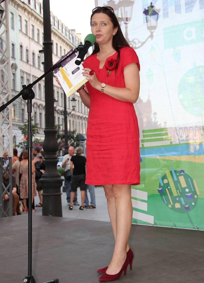 Ирина Терра представила журнал ЭТАЖИ