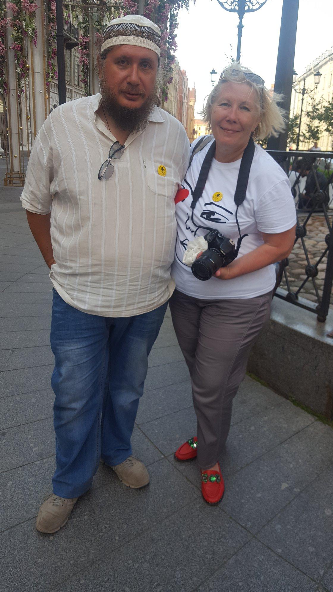 Дмитрий Мурзин и Юлия Мирская