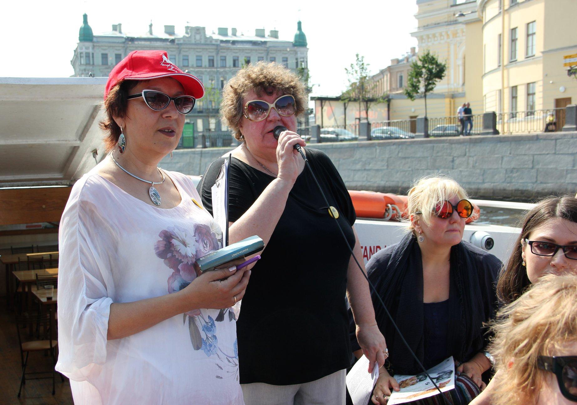 Галина Илюхина и Наталия Перевезенцева