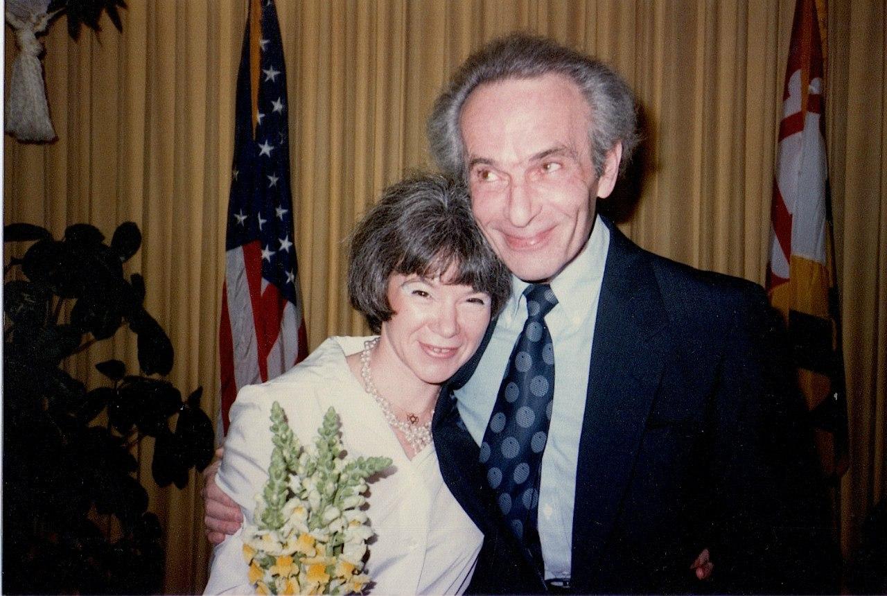 Ирэна Орлова и Генрих Орлов в день свадьбы, Вашингтон