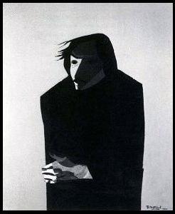 Портрет Гоголя работы В. Шаталова