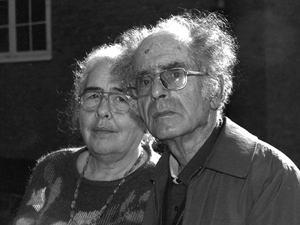Григорий Померанц и Зинаида Миркина
