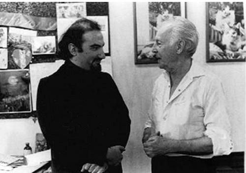 С Джорджем Баланчиным. Фото Марианны Волковой