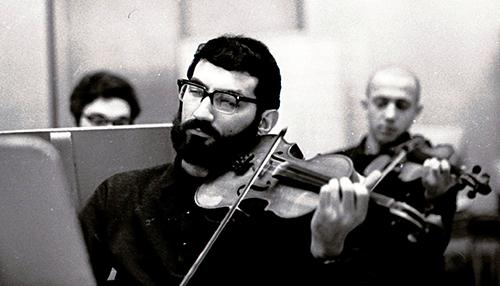 Соломон Волков в экспериментальной студии камерной оперы (ЭКСМО) при Ленинградской консерватории, 1968 год